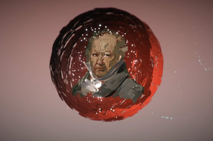 Virtual Goya